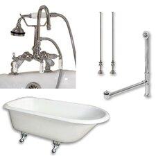 61 L x 30 W  Bathtub by Cambridge Plumbing