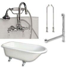 55 L x 30 W  Bathtub by Cambridge Plumbing