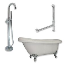 67 L x 31 W  Bathtub by Cambridge Plumbing