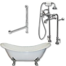 71 L x 30 W  Bathtub by Cambridge Plumbing