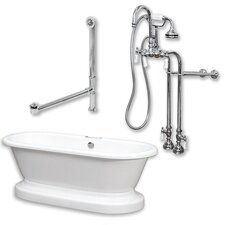 70 L x 30 W Bathtub by Cambridge Plumbing
