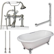 67 L x 30 W  Bathtub by Cambridge Plumbing