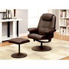 Klaus Lounge Chair and Ottoman by Hokku Designs
