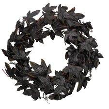 Black Maple Leaf Wreath