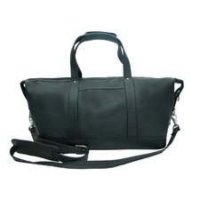 """17"""" Deluxe Leather Carry-On Duffel"""