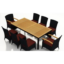 Arbor 9 Piece Dining Set with Cushions