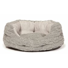 Bobble Pewter Deluxe Slumber Pet Bed in Pewter