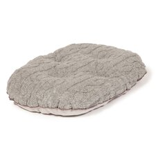 Bobble Pewter Quilted Pet Mattress in Pewter
