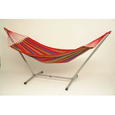 Aruba Jet Cotton Hammock with Stand