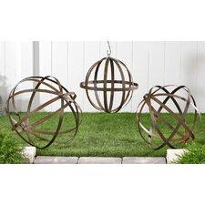 3 Piece Ball Decorations Gothic Trellis Set