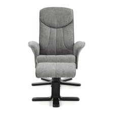 Linwood Push-Back Recliner and Footstool
