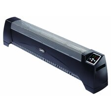 Portable Electric Radiant Baseboard Heater with Thermostat