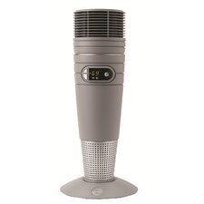 Ceramic 1,500 Watt Portable Electric Tower Heater with Remote Control