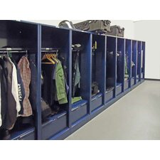 Patriot 2 Tier 1 Wide Coat Locker