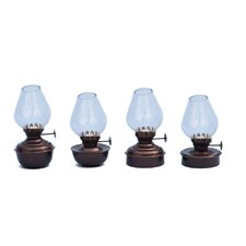 Table Oil Lamp (Set of 4)