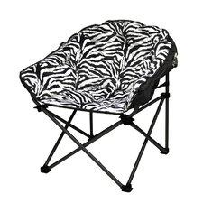Urban Shop Zebra Lounge Chair by Idea Nuova