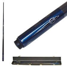 Titanium Billiards Cue in Metallic Blue