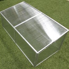 3.5 Ft. W x 1.5 Ft. D Cold-Frame Greenhouse