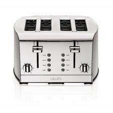4-Slice Toaster in Silver