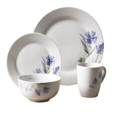 Wildflower 16 Piece Dinnerware Set, Service for 4