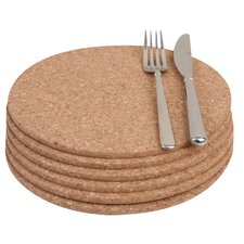 Cork Round Placemat (Set of 6)