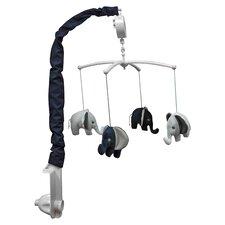 Yasmeen Blue & Gray Musical Mobile