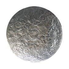 Nirav Etched Metal Disc Wall Décor