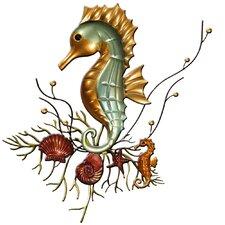 Wanddekoration Seahorse