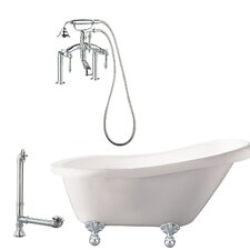 Hawthorne Soaking Bathtub by Giagni