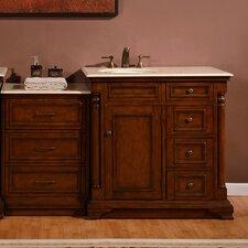 """59"""" Single Sink Cabinet Bathroom Vanity Set"""