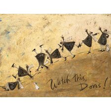 Gerahmtes Leinwandbild Watch This, Doris! von Sam Toft