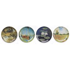 Monet 21cm Dinner Plate 4 Piece Set (Set of 4)