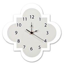 """Adolphus Gray 11"""" Quatrefoil Wall Clock"""