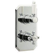 Twin Concealed Shower Valve