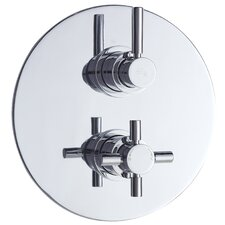 Tec Twin Concealed Shower Valve