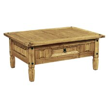 Rustic Corona Coffee Table with Storage