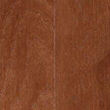 "Blue Ridge Plank 5"" Engineered Hickory Hardwood Flooring in English Leather"