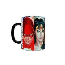 DC Comics Justice League Alex Ross Superheroes Heat Changing Morphing Mug