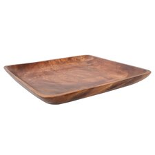 Acacia 35cm Wood Serving Dish