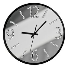 35cm Glass Wall Clock