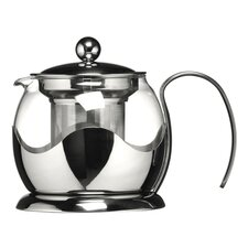 0.75L Glass / Stainless Steel Teapot