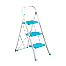 3-Step Metal Step Stool
