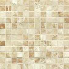 "Onyx 1"" x 1"" Marble Mosaic Tile in Manisa Cream"