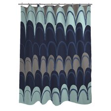 Mila Mountains Shower Curtain