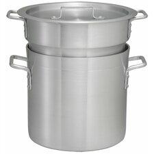 Alu Double Boiler with Lid