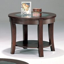 Blue Lake End Table by Wildon Home ®