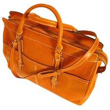 "Casiana 21"" Leather Travel Duffel"