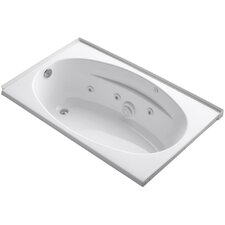Alcove 60 x 36 Whirpool Bathtub by Kohler