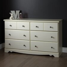 Country Poetry 6 Drawer Double Dresser
