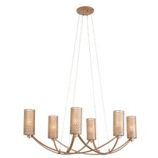 Casablanca 6-Light Shaded Chandelier